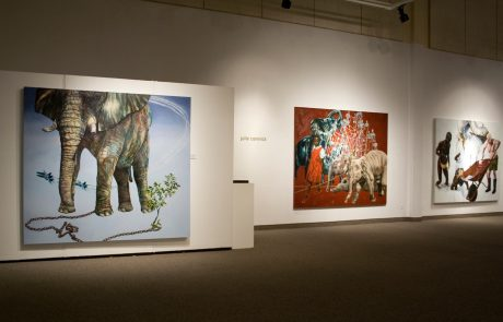 Julie Comnick Art | Prospect | installation view | Coconino Center for the Arts, Flagstaff, AZ
