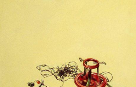 Julie Comnick   January   2003   oil on canvas   48″ x 42″Julie Comnick  