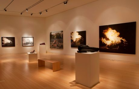Julie Comnick | Arrangement for a Silent Orchestra installation views- Mesa Contemporary Arts Museum, Mesa, AZ