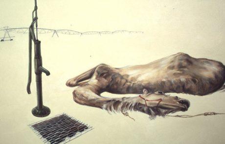Julie Comnick   Drought   2001   oil on canvas   75″ x 90″
