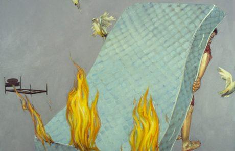 Julie Comnick   Exile   2002   oil on canvas   75″ x 85″