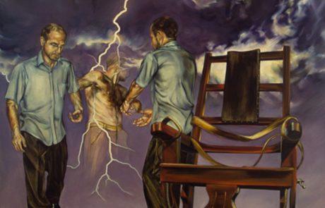 Julie Comnick   Conviction   2002   oil on canvas   87″ x 72″